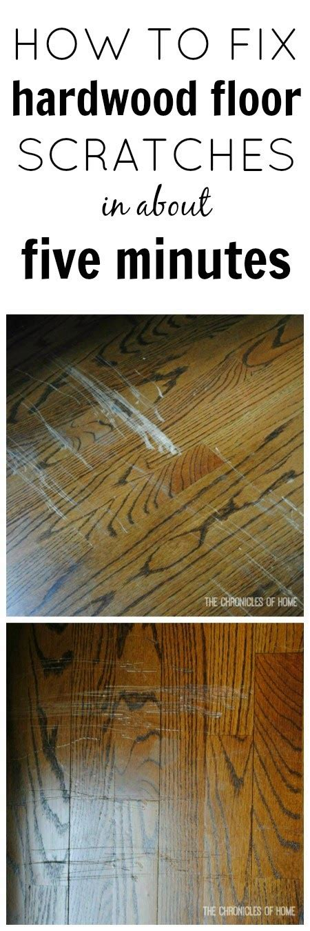 Easy Fix For Scratched Hardwood Floors