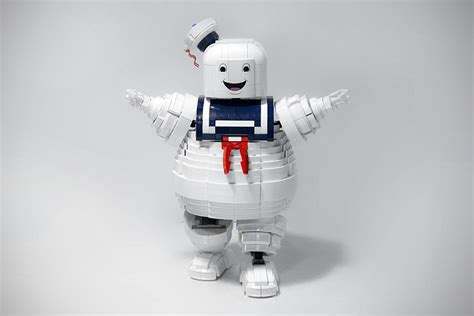 lego ghostbusters stay puft marshmallow man mikeshouts