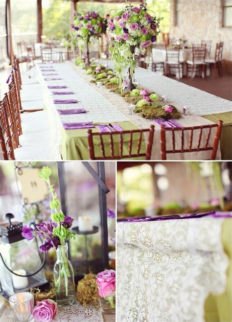 wedding decoration purple and green a rustic purple and mint green tablescape summer mint green wedding