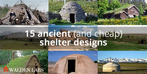 15 ancient house designs that you can build really cheap potentially for free walden labs