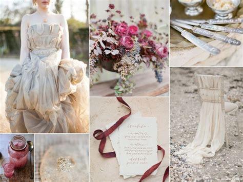 pewter and merlot Merlot wedding Wedding sand Wedding