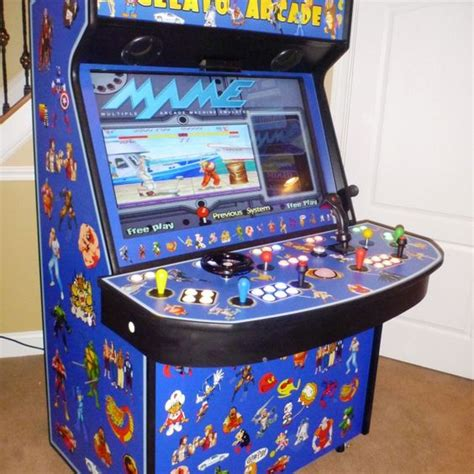 best arcade cabinets for home mame arcade 4 player with special controllers arcades
