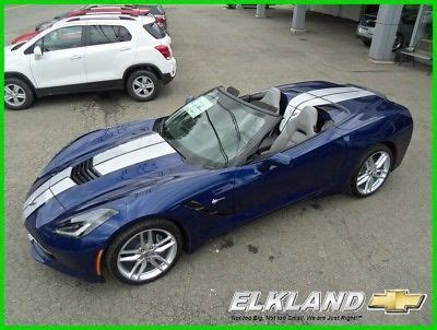 chevrolet corvette  stingray convertible automatic msrp   convertible admiral