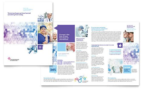 Free Mental Health Brochure Templates by Senior Care Services Brochure Template Design