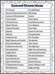 Theme ideas Concerts and Classroom themes on Pinterest
