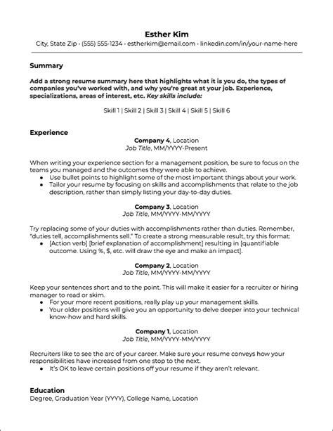 Work Resume Template by Premium Resume Templates