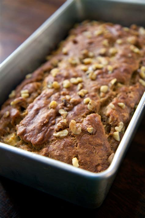 recipe   fat vegan banana apple chunk bread