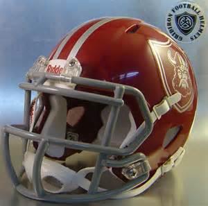 High School Football Mini Helmets