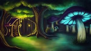 Mushroom forest by OpiumKyo on DeviantArt