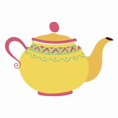 Teapot Tea Pot Clipart Transparent Illustration Pouring