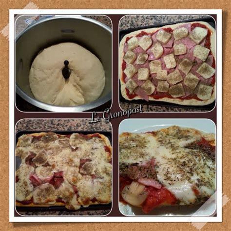 recette pate a pizza robot le gronopost p 226 te 224 pizza avec companion moulinex