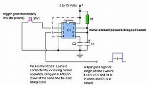 Basic Ic Monostable Multivibrator