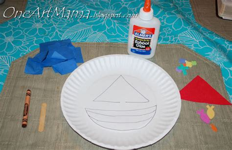 triangle crafts  toddlers triangle