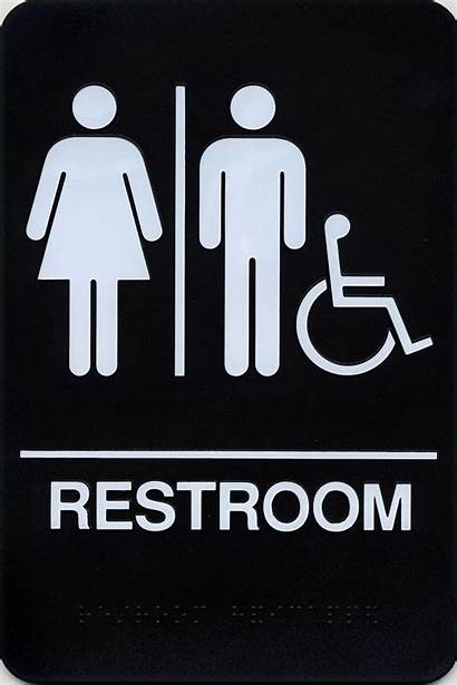 Unisex Restroom Signs Vector Sign Clipart Restrooms