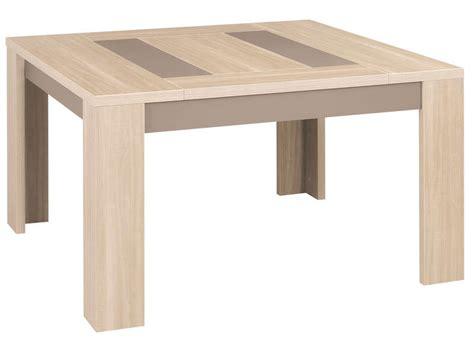 buffet conforama cuisine table carrée 130 cm atlanta coloris chêne clair vente de