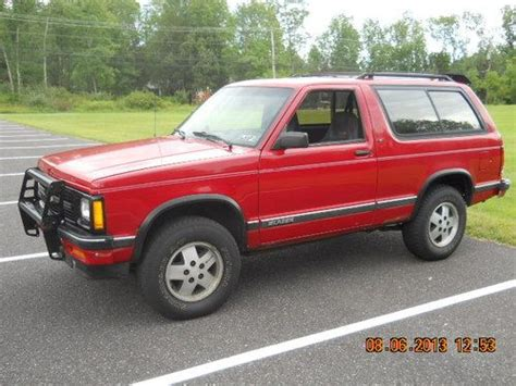 how make cars 1992 chevrolet s10 parental controls find used 1992 chevy blazer s10 sport 4wd in green lane pennsylvania united states for us
