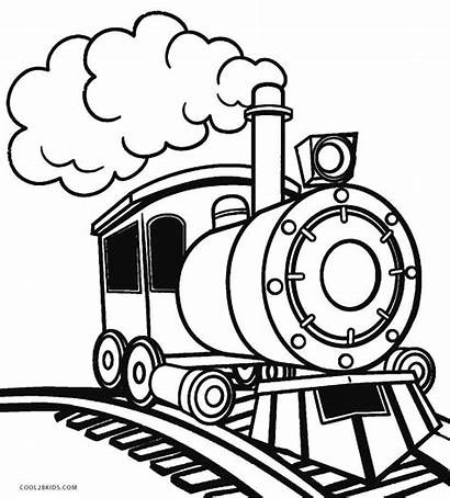 Train Coloring Pages Steam Printable Cool2bkids