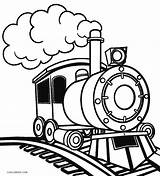 Train Coloring Steam Printable Cool2bkids sketch template