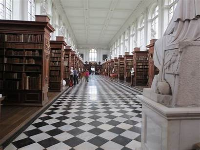 Library Wren Cambridge Three Albion Months
