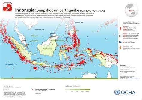 indonesia snapshot  earthquake jan  oct