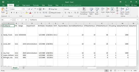 Managing Employees Screenshots