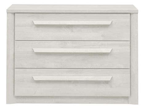 Commode Chene Blanchi commode 3 tiroirs coloris ch 234 ne blanchi vente de