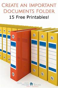 create an important documents grab and go binder first With important documents folder