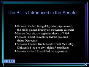 ppt the 1960s and powerpoint presentation id6016535 With in the senate bills are brought to the floor by