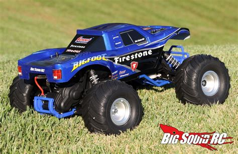 monster truck bigfoot video unboxing traxxas bigfoot monster truck big squid rc