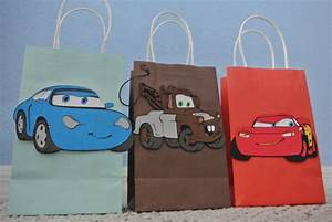 Lighting Mcqueen Birthday Party Ideas Lightning Mcqueen Friends Goody Bags By