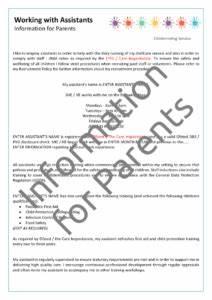 Poster Sign Fire Evacuation Procedure Educational Children Nursery