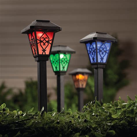color changing color changing solar light solar color changing light