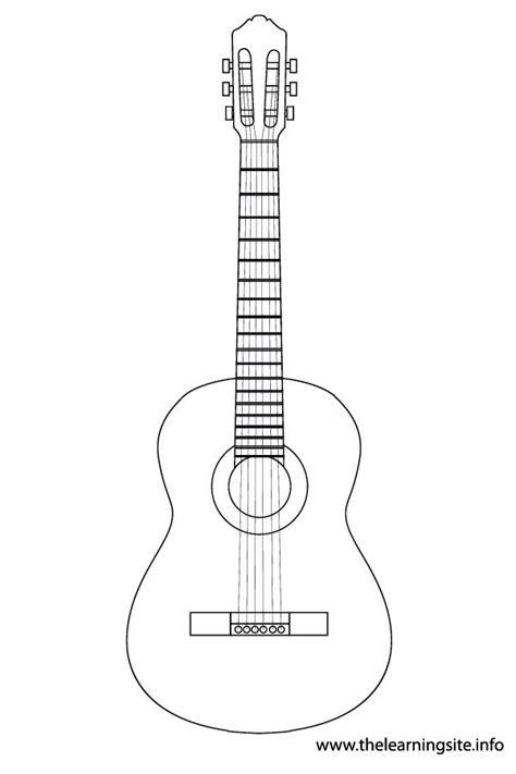 guitar template google search kids pinterest