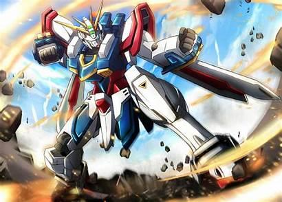 Gundam God Mobile Fighter Anime 017njii Gf13