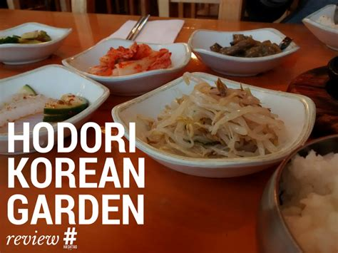 korean garden restaurant hodori korean garden restaurant review clayton