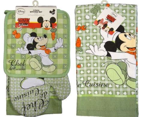 Mickey mouse kitchen towels     Kitchen ideas