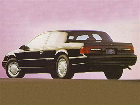 how cars engines work 1992 mercury cougar user handbook 1993 mercury cougar specs safety rating mpg carsdirect