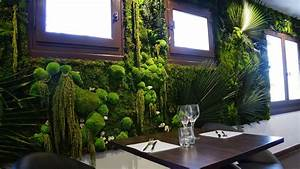 Mur Végétal Intérieur Ikea : mur v g tal int rieur avec des plantes stabilis es ~ Dailycaller-alerts.com Idées de Décoration