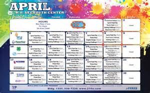 Event Calendar Template 2016