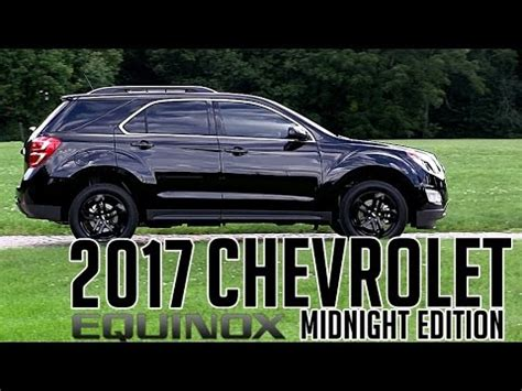 chevy equinox midnight edition 2017 chevrolet equinox lt midnight edition overview dan