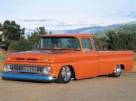 1963 Chevy C10 Pickup  17 Inch Rims  Truckin' Magazine