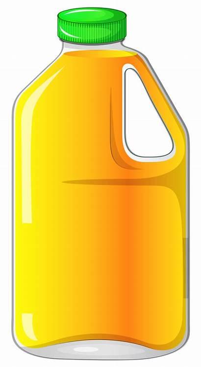 Juice Clipart Bottle Orange Jug Clip Drinks