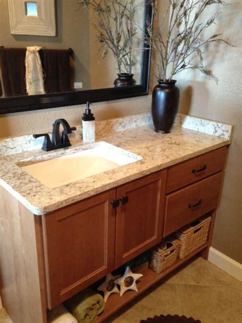 quartz countertops installed  lake   ozarks home