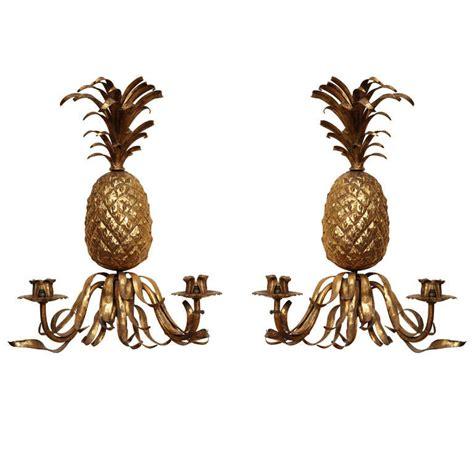 19th century gilt pineapple sconces at 1stdibs