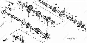 Honda Atv 2000 Oem Parts Diagram For Transmission   U0026 39 99