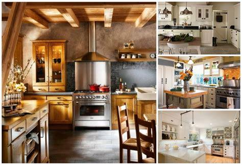 cuisine chaleureuse cuisine cagne moderne 50 idées pour un décor chaleureux