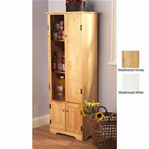 Storage Cabinets: Extra tall Solid Pine Wood Storage