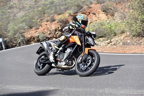 ktm 790 duke 2018 ktm 790 duke 2018 on review speed specs prices mcn
