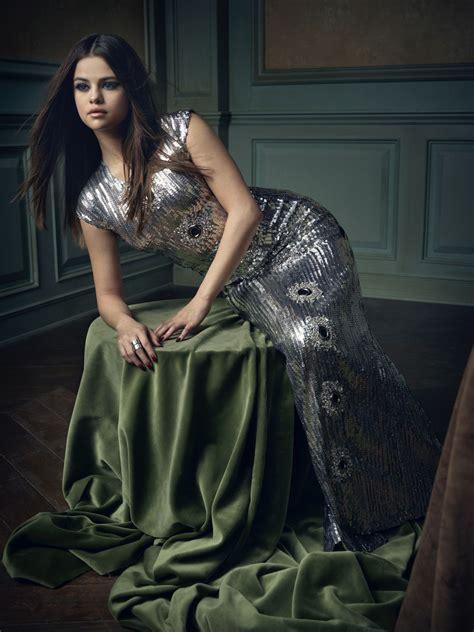 Selena Gomez Mark Seliger Vanity Fair Oscar Party