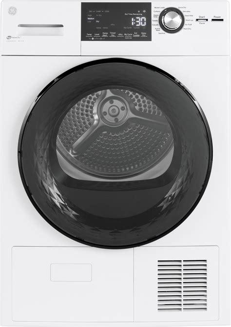 gftessmww ge   cu ft ventless condenser dryer